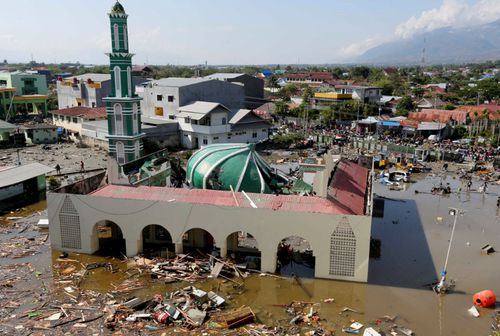 The city of Palu has been devastated by an earthquake and tsunami.