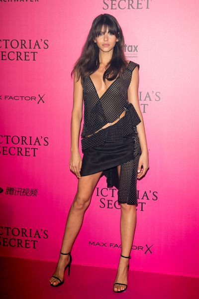 Georgia Fowler at the Victoria's Secret Fashion Show after party, Paris.
