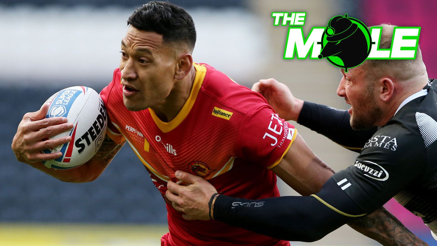 Israel Folau expected to split with Catalans Dragons and chase rugby union return