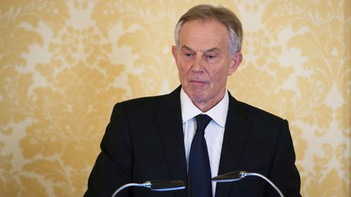 Tony Blair responding to the Iraq Inquiry Report (Getty Images)