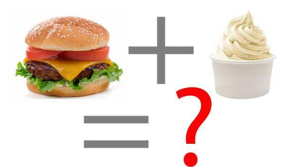 Ice-cream burgers