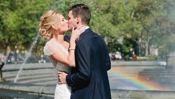 Alison Piotrowski's wedding