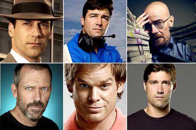 Jon Hamm, <I>Mad Men</I><br/><br/>Kyle Chandler, <I>Friday Night Lights</I><br/><br/>Bryan Cranston, <I>Breaking Bad</I><br/><br/>Hugh Laurie, <I>House</I><br/><br/>Michael C. Hall, <I>Dexter</I><br/><br/>Matthew Fox, <I>Lost</I>