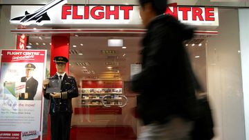Flight Centre is closing stores across the country.