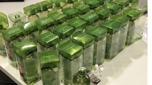 Couple who allegedly smuggled liquid ice in water bottles arrested at Sydney Airport