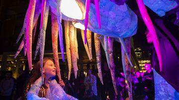 Vivid: Sydney lights up for festival's tenth anniversary