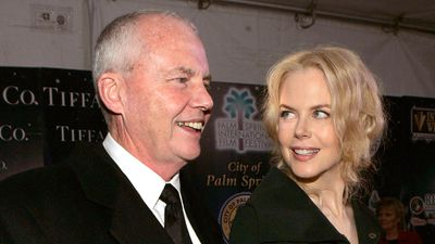 Nicole Kidman and her father Antony. (AAP)