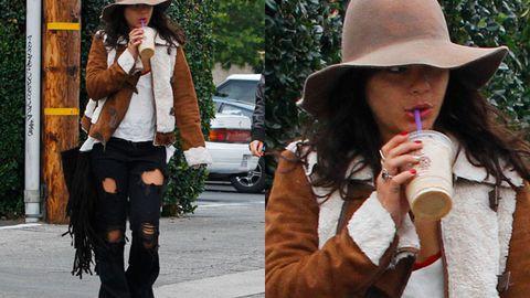 Hot or not: Vanessa Hudgens' hippie chic