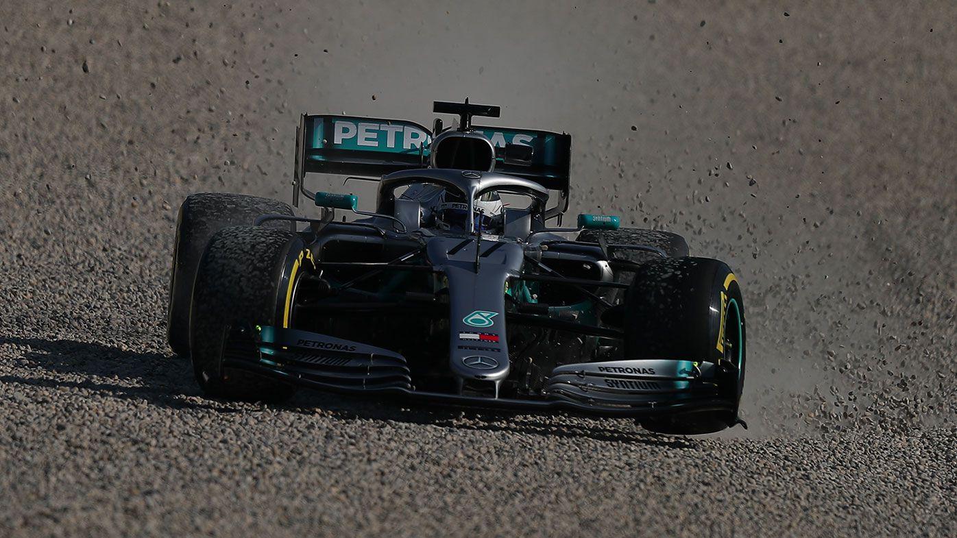Mercedes F1 driver Valtteri Bottas.