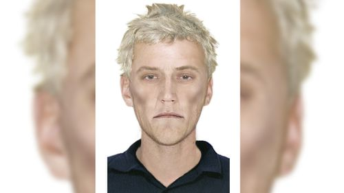 Victoria Police is searching for a man matching this description for an unprovoked stabbing attack. (Victoria Police)
