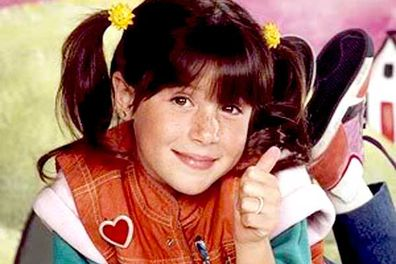 The colourful and charming little girl that everyone loved to orphan &#151; yep, it's <i>Punky Brewster</i>. Her bittersweet story of abandonment, adoption, evil social workers and joyous reunions was carried by the bright and cheerful face of <b>Soleil Moon Frye</b>. Her signature double thumbs-up brought a smile to almost every child of the '80s at some point. Just look at that face. Awww!