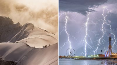 Royal Meteorological Society's top photos of the year revealed