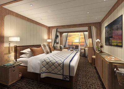 Seabourn Venture: Veranda Suite