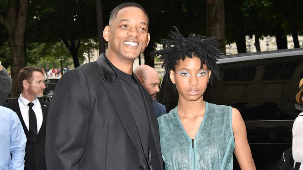 Will Smith and daughter Willow, who has called for women to embrace their body hair.