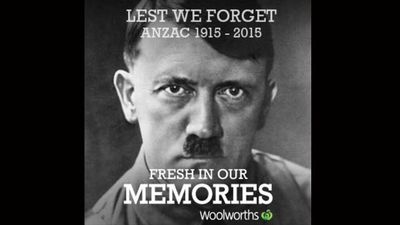 No one will forget Adolf Hitler.