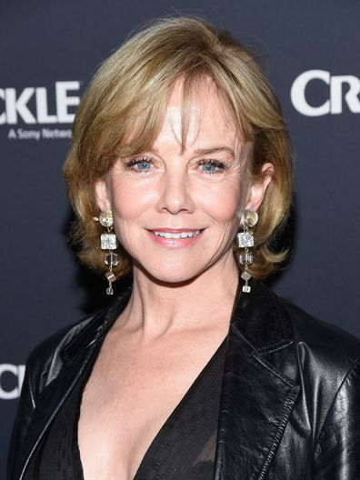 Actress Linda Purl attends the premiere of Crackle's The Oath at Sony Pictures Studios on March 7, 2018 in Culver City, California.