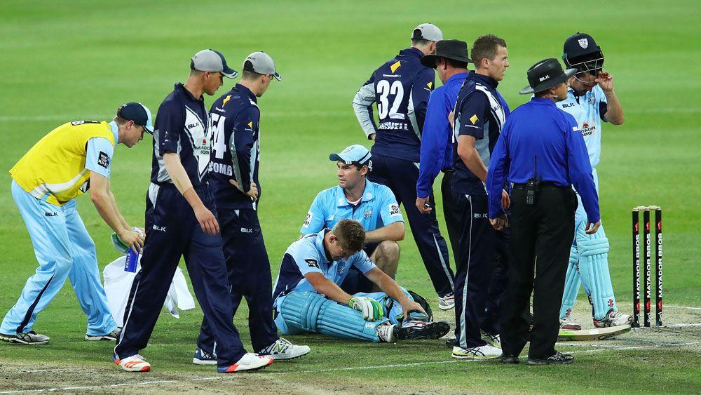 Cricket concussion sub activated, NSW win