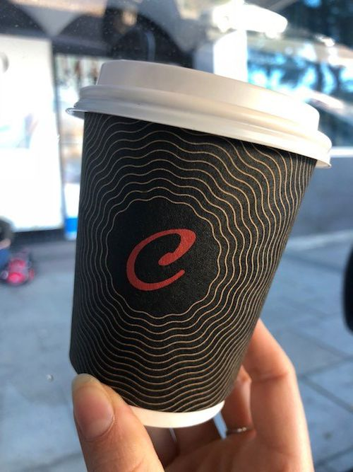 On the Run servos has banned reusable cups over fears for health and safety. Picture: 9NEWS