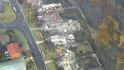 Aerial images reveal devastation of Tathra bushfire