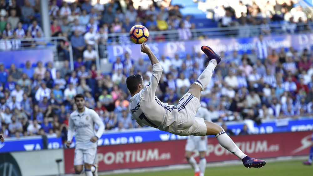 Cristiano Ronaldo.(AAP)