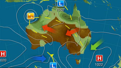 Weatherzone forecast models Australia Tuesday January 7 2020