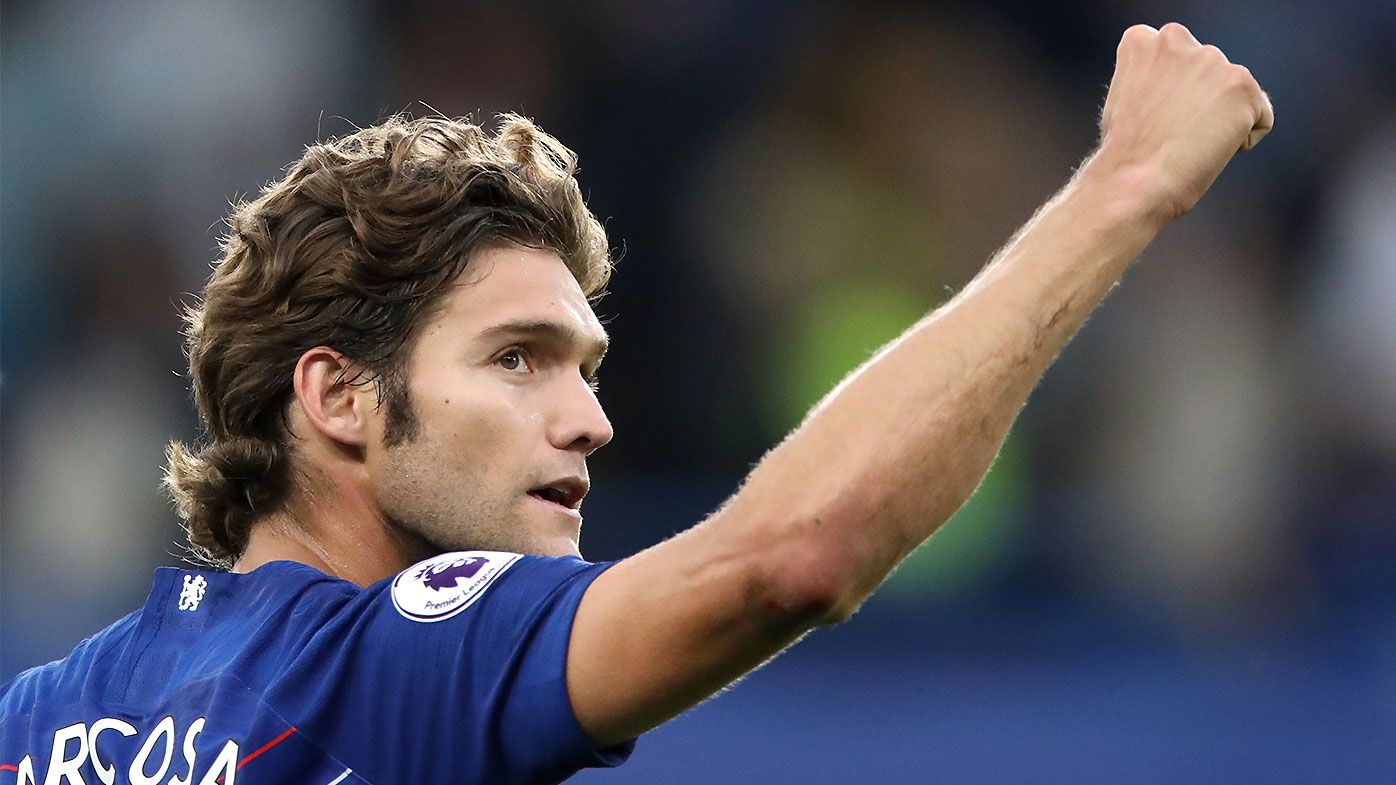 Late Marcos Alonso goal sinks Arsenal in London derby