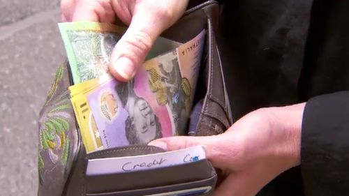 There was $1000 stashed in the wallet. (9NEWS)