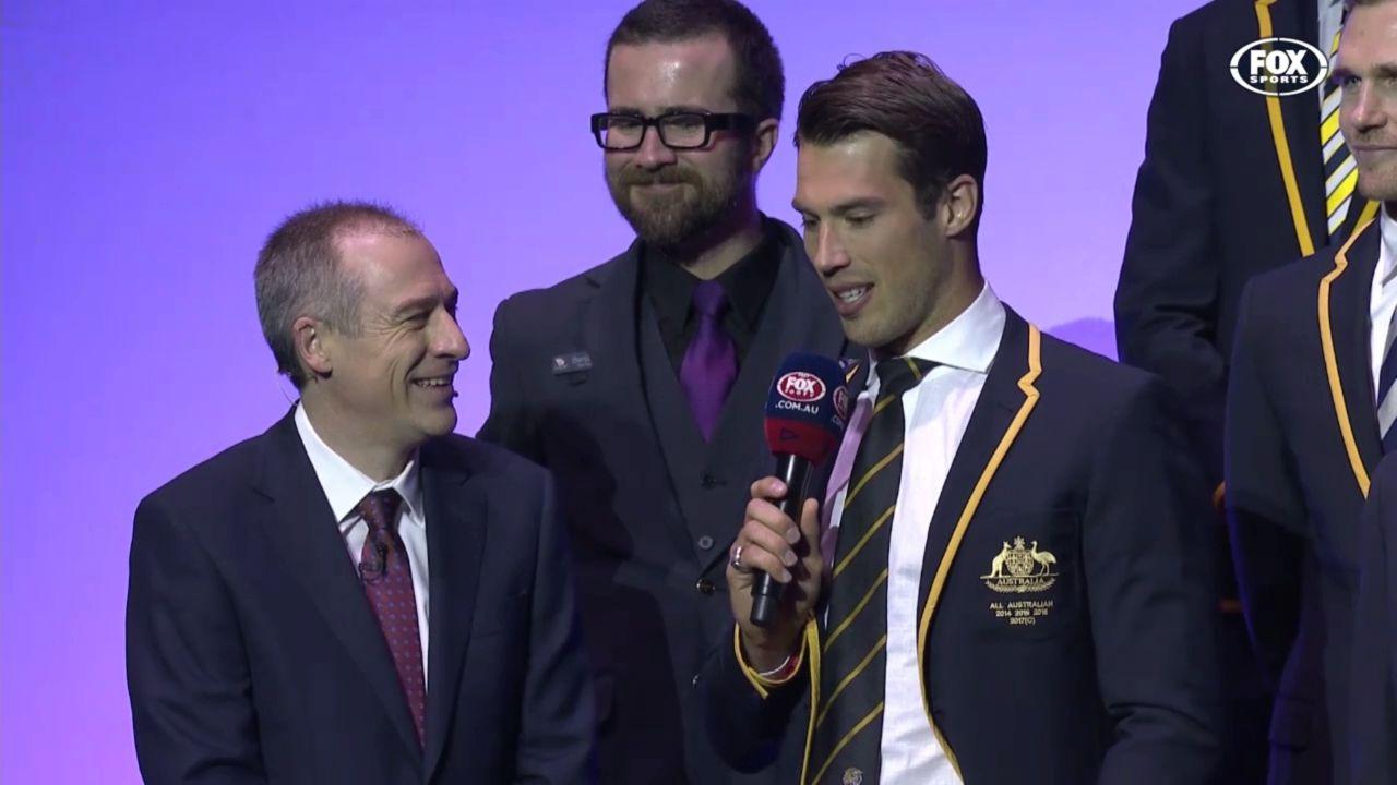 Rance named All-Australian skipper
