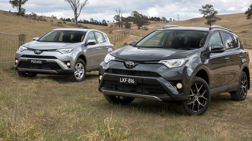 The Toyota RAV4 has strong name recognition.