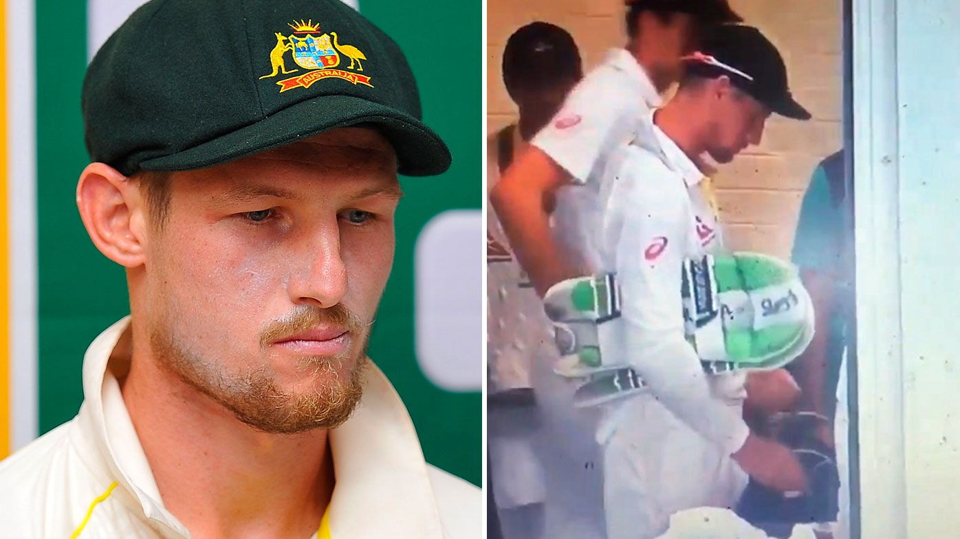 Australia's Cameron Bancroft allegedly caught spooning sugar in pocket during Ashes series