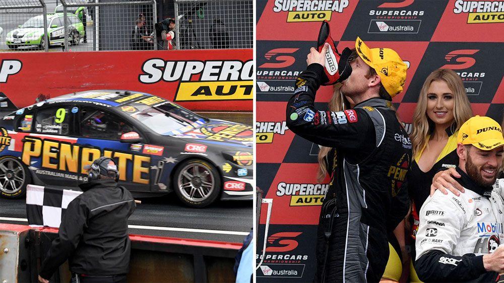 Holden Supercars cult hero David Reynolds breaks through at wet and wild Bathurst 1000