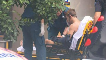 Police had alleged the men's victim, Mitchell King, was pushed from the third-storey balcony of his Bowen Hills unit in February 2018 after a $3500 drug deal went bad.