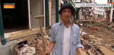 Susanna Ohlen German TV reporter floods later fired