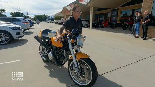 Heath Ledger bike
