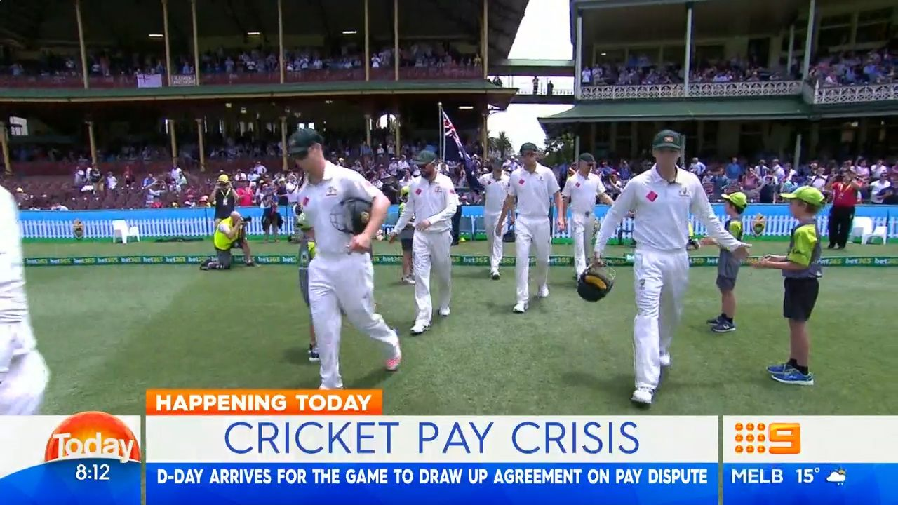Cricket pay deal looming between CA and ACA.