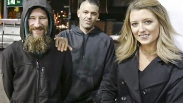 Homeless man's life-changing generosity