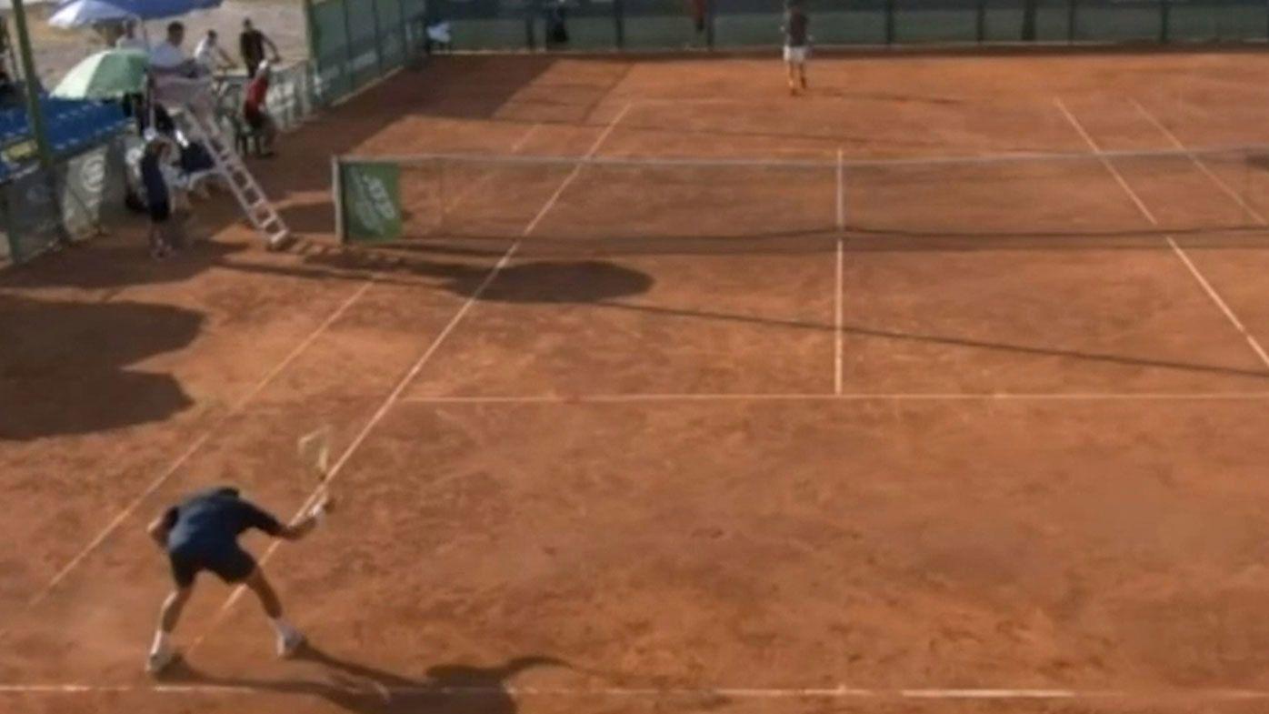 'This is art': Mario Vilella Martinez's 'ballistic' racquet smash