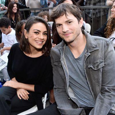 Mila Kunis and Ashton Kutcher