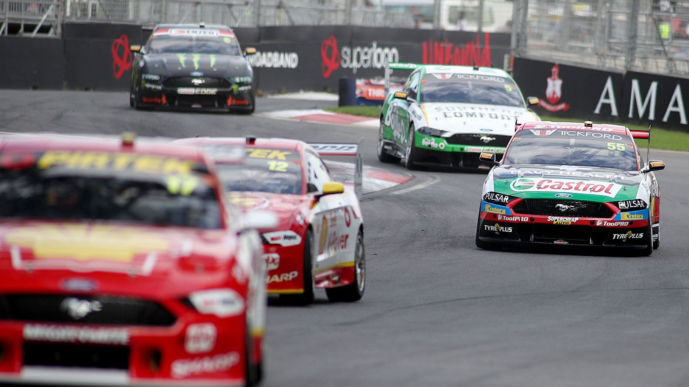 Supercars in Adelaide