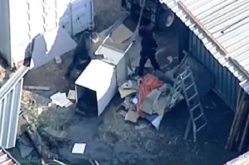 Workers discovered his body while they were cleaning out a storage facility.