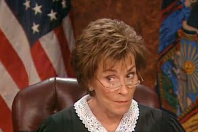 """<b>Judge Judy Perfect Put-Down:</b> """"Either you're playing dumb, or it's not an act."""""""