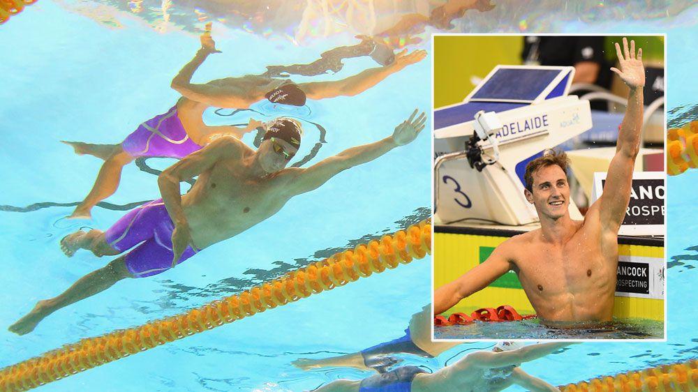 McEvoy breaks national 100m record