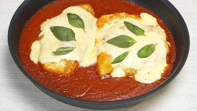 Chicken parmigiana became a pub favourite in the 1990s