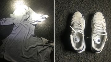 Victorian police hope photographs of a grey hoodie and white trainers can help identify a man found lying on a street last night in Melbourne's east with life-threatening head injuries.