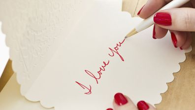 a hand written love letter can be the perfect and an inexpensive gift this valentines day image getty