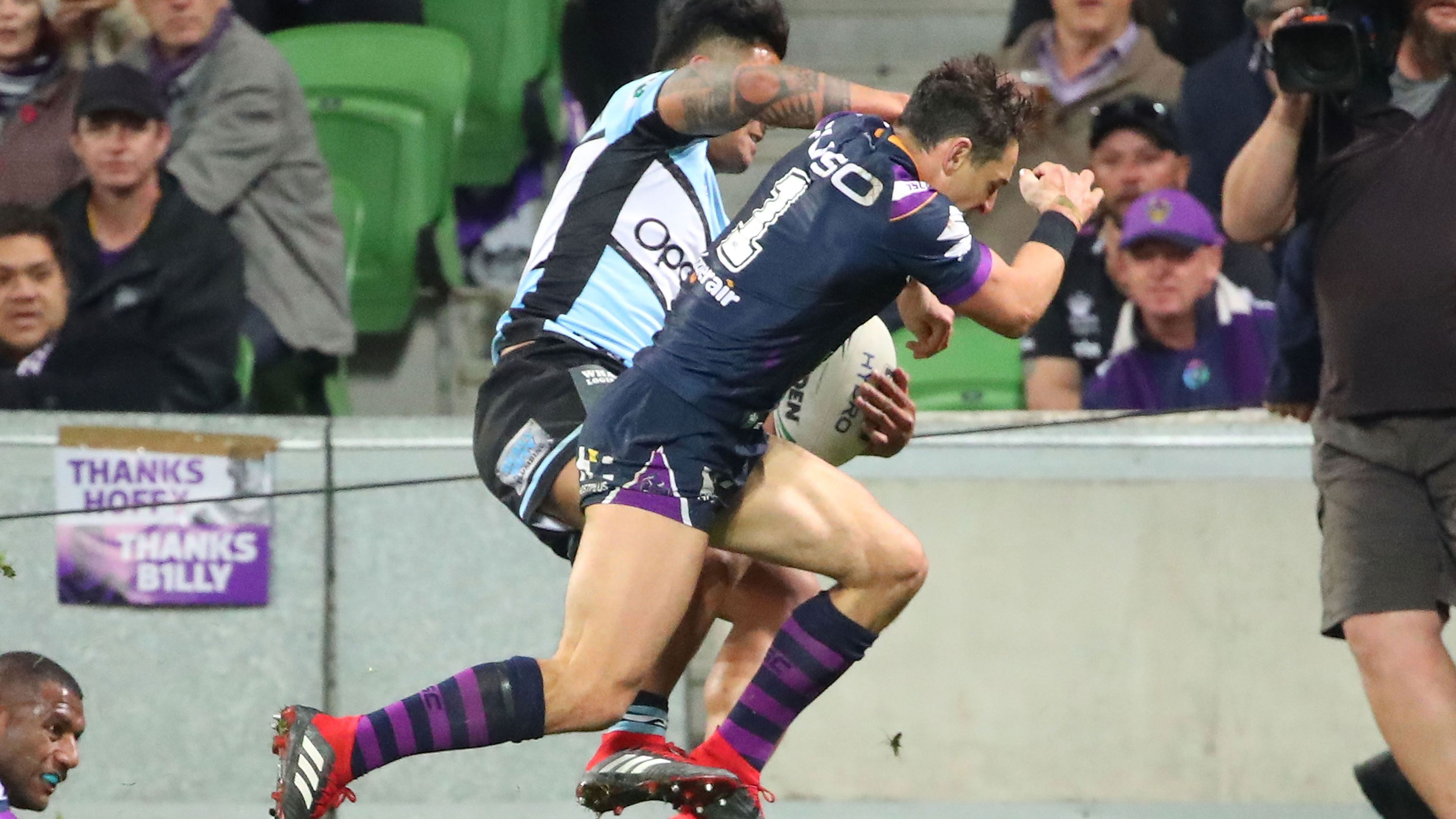 Andrew Johns and Johnathan Thurston expect Billy Slater to face shoulder charge ban