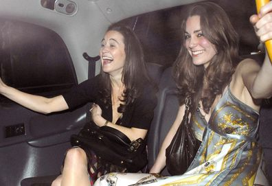 Kate and Pippa Middleton clubbing in 2007