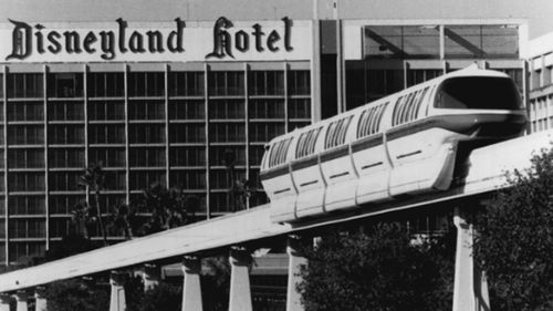 Disneyland Monorail System in 1991