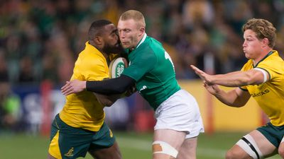 Ireland scrapes past Wallabies in tense win