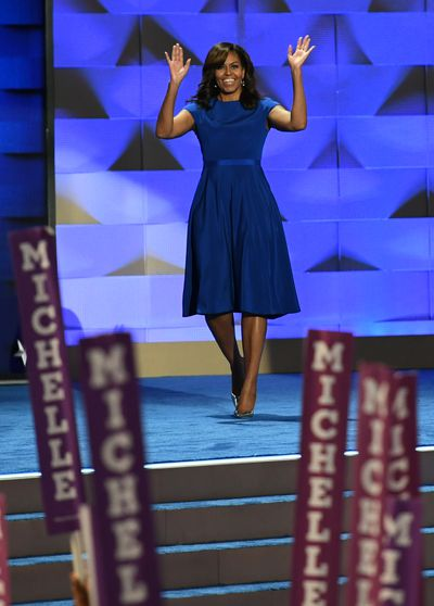 Michelle Obama in Christian Siriano at the Democratic National Convention